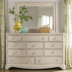 Bathroom Mirrors Vaughan gramercy park dresser and mirrorvaughan bassett | bedroom