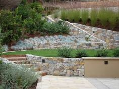 Fabulous Landscape Ideas For Steep Backyard Hill Landscaping Ideas For Hillside Backyard Slope Solutions Install - If you are thinking of easy landscaping Backyard Hill Landscaping, Steep Backyard, Terraced Landscaping, Acreage Landscaping, Sloped Backyard, Landscaping Ideas, Backyard Ideas, Traditional Landscape, Contemporary Landscape