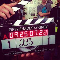 Primeras imágenes del rodaje de 'Cincuenta sombras de Grey'