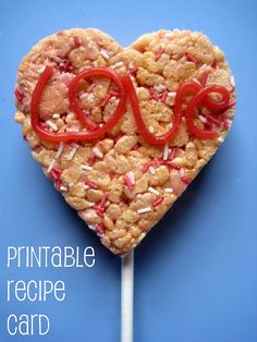Do you give Valentine's to your kids or have them hand them out to their friends? I think that's popular in the US? We don't do this so much in the UK but this year we're making these lollipops for classmates. They're yummy and very easy so the kids can make them.