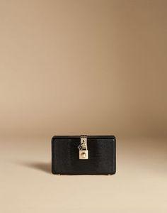 POCHETTE DOLCE BOX IN PELLE STAMPA IGUANA - Pochette - Dolce&Gabbana - Estate 2016