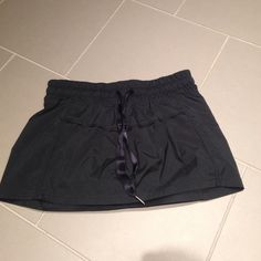 Lululemon Running Shorts Cute running shorts from Lulu! I took the back tag out because it was bothersome. These are a 0. Too small for me and warn once. lululemon athletica Shorts
