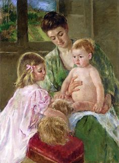 View Children Playing with a Dog by Mary Cassatt on artnet. Browse upcoming and past auction lots by Mary Cassatt. Edgar Degas, Impressionist Artists, Impressionism Art, American Impressionism, Rockefeller Center, Mary Cassatt Art, Mother And Child Reunion, Matisse, Berthe Morisot
