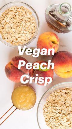 Healthy Vegan Desserts, Vegan Sweets, Vegan Foods, Healthy Dessert Recipes, Vegan Dishes, Vegan Recipes Easy, Healthy Low Carb Recipes, Whole Food Recipes, Cooking Recipes