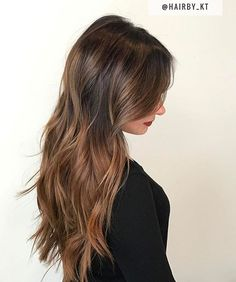 Light Brunette. Color by @hairby_kt  #hair #hairenvy #haircolor #hairstyles #brunette #ombre #sombre #balayage #highlights #newandnow #inspiration #maneinterest