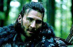 best scene ever :D he is like seriously woman #roan #clarke #3x15