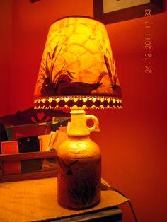 LAMPADA DECOUPAGE
