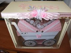 Tracey Anne Designs: Arty Farty/ Tracey's 3D Creations Twin pram