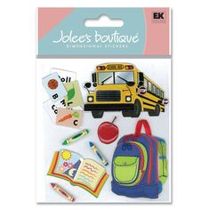 Jolee's Boutique®   Going To School Stickers  $4.39