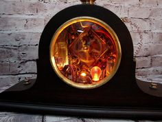 Steampunk Lamp Assemblage Art by BenclifDesigns on Etsy