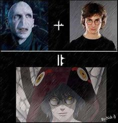Voldemort + Harry = Kabuto<<<< The accuracy of their love child hurts.