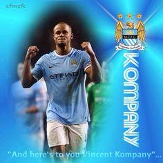 Vincent Kompany wallpaper Captain Manchester City FC  #mcfc #manchester #city #etihad