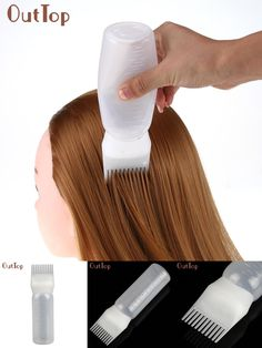 [Visit to Buy] OutTop best seller beauty  Hot Hair Dye Bottle Applicator Brush Dispensing Salon Hair Coloring Dyeing tool #30 drop shipping #Advertisement