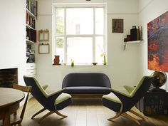 Brixton house: living and dining space (great furniture) - Photo 3 in a set of 22 different living rooms.