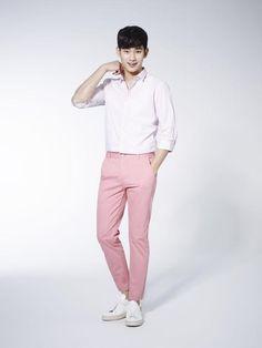 Kim Soo Hyun Is A Handsome Guy-Next-Door For Semir : Fashion ...