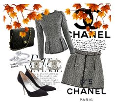 """""""CHANEL"""" by weirdoaf ❤ liked on Polyvore featuring Chanel"""