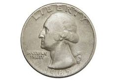 A 1965 silver quarter is rare because in 1965 U. quarters were supposed to be made of copper-nickel clad. How to tell if you have one + A list of other transitional error coins. Rare Coins Worth Money, Valuable Coins, Valuable Pennies, Old Coins Value, Value Of Silver Coins, Penny Values, Rare Pennies, Coin Worth, Silver Quarters