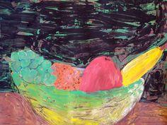 Mísa s ovocem. Painting, Art, Art Background, Painting Art, Kunst, Paintings, Performing Arts, Painted Canvas, Drawings