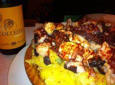 best octopus in Barcelona at O Retorno
