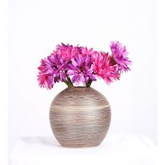 """Ceramic Pot 17cm X 17cm By Stories - Vase - Home Decor - Accessories - HT6.69"""" Rs750 Bright Flowers, Fresh Flowers, At Home Furniture Store, Principles Of Design, Ceramic Pots, Home Decor Accessories, Abstract Pattern, Vases, Planters"""