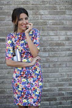 Beautiful flowered dress