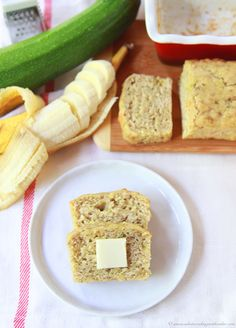 Sourdough Banana Zucchini Bread by www.cookingiwthruthie.com is an unbelieveably delicious loaf!