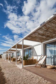 I-da Arquitectos holiday apartments/  Alentejo Coast, Portugal.