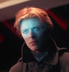 David Bowie as Thomas Jerome Newton in The Man Who Fell to Earth [1976]