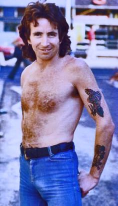 AC/DC PIC 34 BON SCOTT