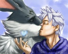 Jack Frost x The Easter Bunny from Rise of the...