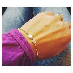 Namensarmbänder - Wunsch Initial 2 ♥ Mutter Vater 925 Silberarmband - ein Designerstück von _Andressa_ bei DaWanda
