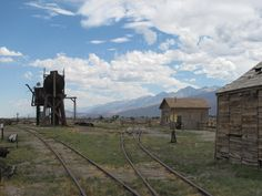 Laws Railroad Town outside of Bishop, CA.