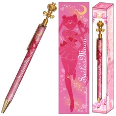 Official Sailor Moon pen! http://www.moonkitty.net/reviews-buy-sailor-moon-stationary-books-bags.php #SailorMoon