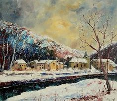 Pol Ledent winter in bohan absolutearts.com