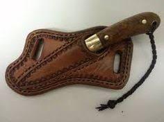 Resultado de imagen para how to make a leather crossdraw knife sheath