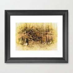 Vintage Woodlands  by Judy Palkimas