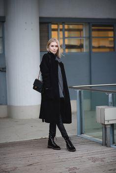 Ganni Teddy coat / Winter Fashion