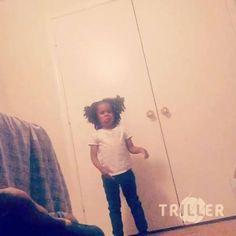 "Young Thug: "" #Amari just like her daddy !!! "" #youngthug #USrap #thuggerthugger1 #thuggerthugger"