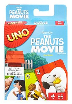 UNO The Peanuts Movie Card Game: The classic game of UNO gets a twist inspired by the Peanuts gang. Themed adaptations add new elements to game play. Birthday Presents For Boys, Christmas Gifts For Boys, Uno Card Game, Uno Cards, Fun Board Games, Games To Play, Peanuts Movie, Peanuts Gang, Peanuts Characters