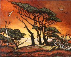 Atardecer en el Serengueti