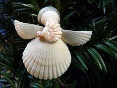 A Shy Shell Angel by SeasAndSeasons on Etsy, $20.00
