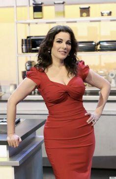 Celebrity Chef Nigella Lawson in Stop Staring!