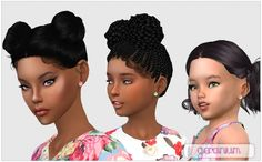 Geranium Studs For All Ages at Giulietta • Sims 4 Updates