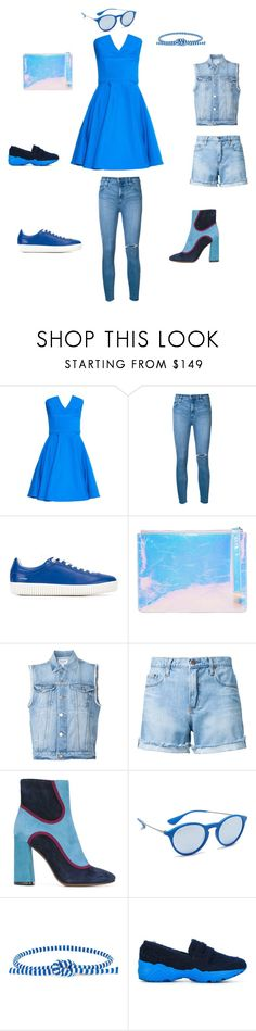 """Fallowe me"" by emmamegan-5678 ❤ liked on Polyvore featuring Emilio De La Morena, Nobody Denim, Courrèges, Kara, Frame, L'Autre Chose, Ray-Ban, Ports 1961, Suecomma Bonnie and vintage"