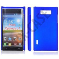 Hard Shell (Blå) LG Optimus L7 P700 Cover