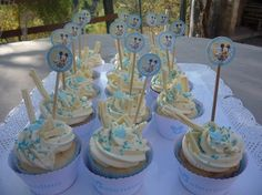 cupcakes para cumpleaños