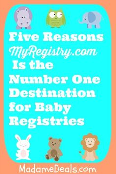 Five Reasons MyRegistry.com Is the Number One Destination for Baby Registries