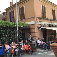 Domingo no Gianicolo #receitaitaliana #italia #italy #roma #rome #beauty #beleza #belezza #gianicolo #bargianicolo