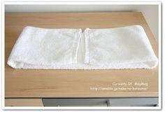 洗面所●タオルの収納とたたみ方