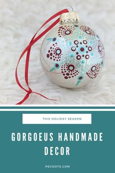 Elegant, hand painted glass ornaments. Shipping from Canada, click through to order! #christmas2020 #christmasornaments #glassornaments #mandalaornaments #holidaydecor #christmasdecor #christmasgifts #elegantchristmas Christmas Bulbs, Christmas Gifts, Christmas Decorations, Holiday Decor, Best Friend Gifts, Gifts For Friends, Best Gifts, Cool Gifts, Unique Gifts